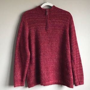 CJ BANKS Red Sweater